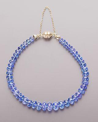 Elegantes Armband mit Tansanit von Sogni d´oro #schmuck #jewelry #Edelsteine…