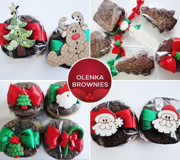 Doces de Natal - Brownies da Olenka Brownies