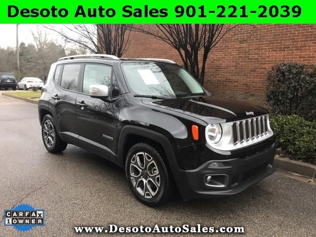 Used 2017 Jeep Renegade Limited Fwd For Sale In Olive Branch Ms 38654 Desoto Auto Sales Used Suv Cars For Sale Jeep Renegade