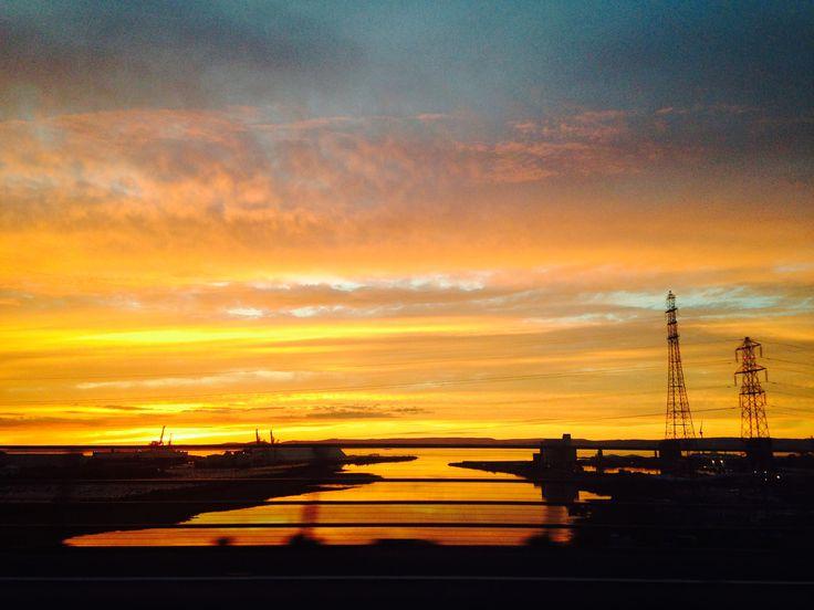 Bristol sunset