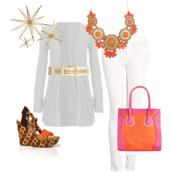 White Party Miami Style, created by momtrends on Polyvore