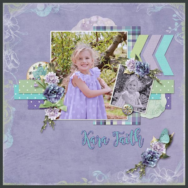 Kara Faith by Betsyfru. All kits from Mix and Match: Lovely Moment, Glamorous Garden, Expectancy, Selfie, Sew Spring and Sew Spring Card Stock http://scrapbird.com/-c-83/blue-bird-mix-and-match-c-83_562/