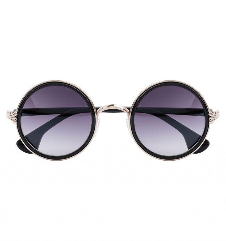 ronde zonnebril boho style
