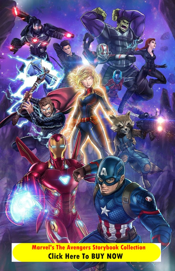 Marvel's The Avengers Storybook Collection read seven