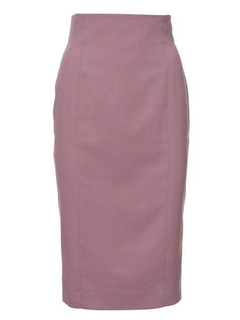 High-waisted pencil skirt by Burda