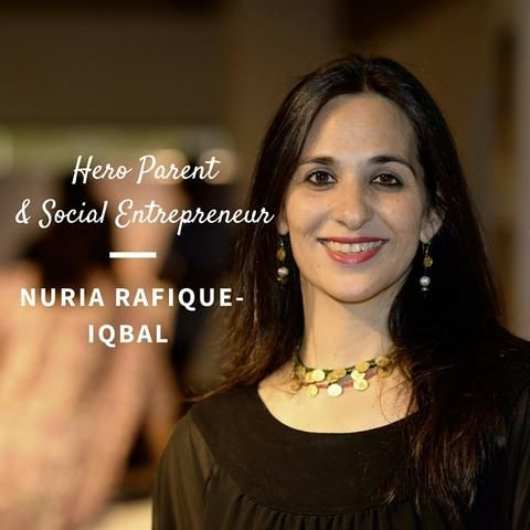 Hero Parent and social entrepreneur Nuria Rafique-Iqbal is the force behind 'Labour and Love', the Pakistan based handicraft company that designed and handmade our loveable lion mascot - Sheru. Nuria talks to us about how she shifted gears, from an international law career, to raising her growing family while running a company that is empowering hundreds of women and helping end the cycle of poverty.