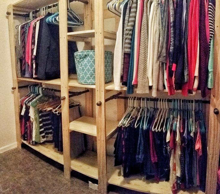 Elegant Closet organizer Hanging Bar