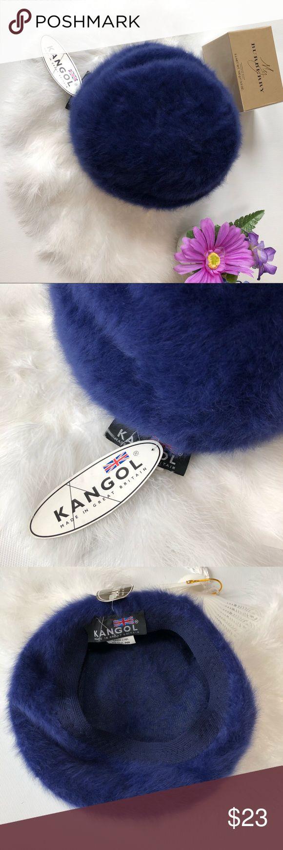 NWT KANGOL FURGORA  BERET BLUE RABBIT HAIR OS New with tags KANGOL FURGORA SABRINA REGULAR BERET. Blue . Please see pictures for material information. Kangol Accessories Hats