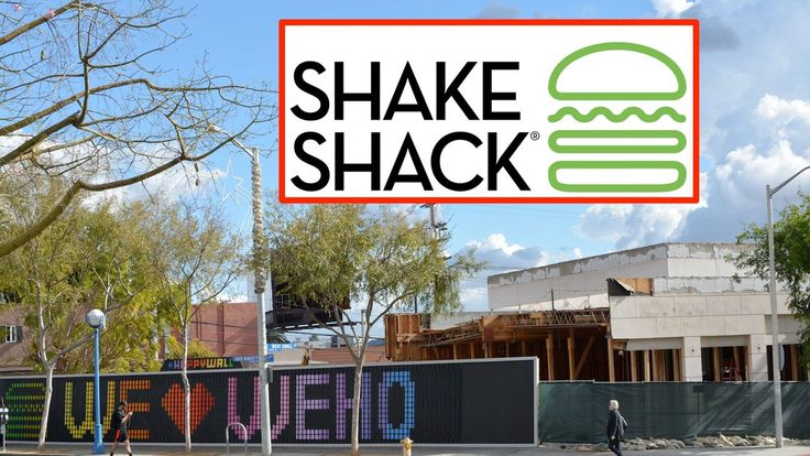 Shake Shack's First LA Location Opens March 15 in West Hollywood - Eater LA