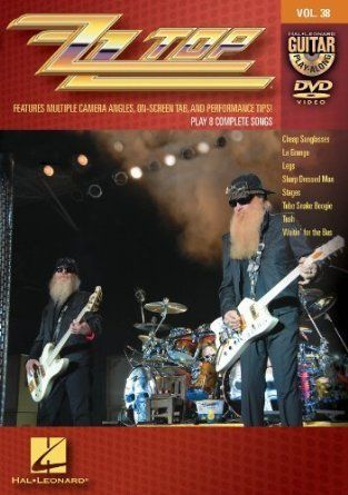 ZZ Top - Guitar Play-Along DVD Volume 38 by ZZ Top