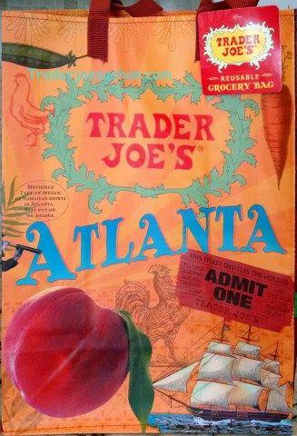 Trader Joe's Reusable Shopping Tote Mystery Pack $2.99 トレーダージョーズのエコバッグ ミステリーパック アトランタ ジョージア Atlanta GA