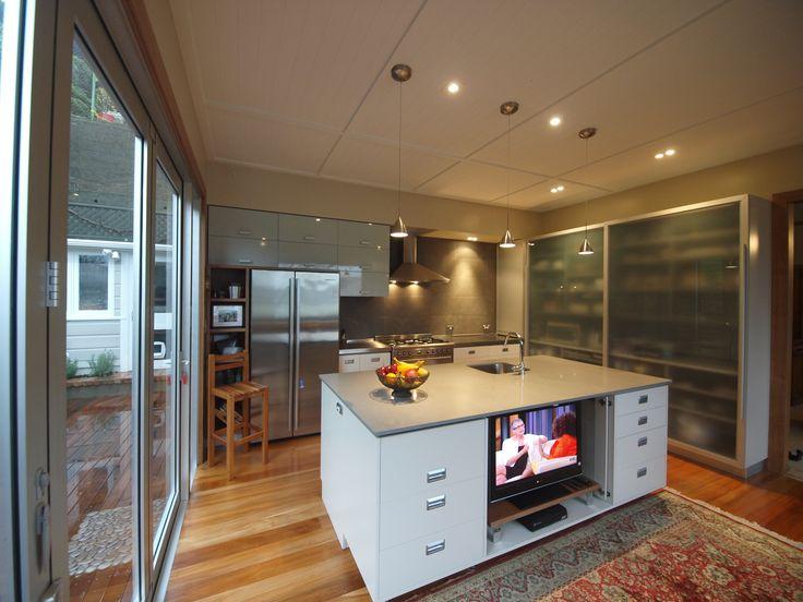Marjoribanks Kitchen Design By Prestige Joinery. #kitchen #interiordesign  #kitchendesign #stainlesssteel #