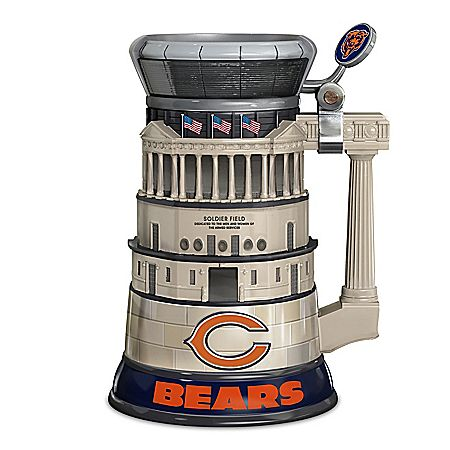 NFL Chicago Bears Soldier Field Stein