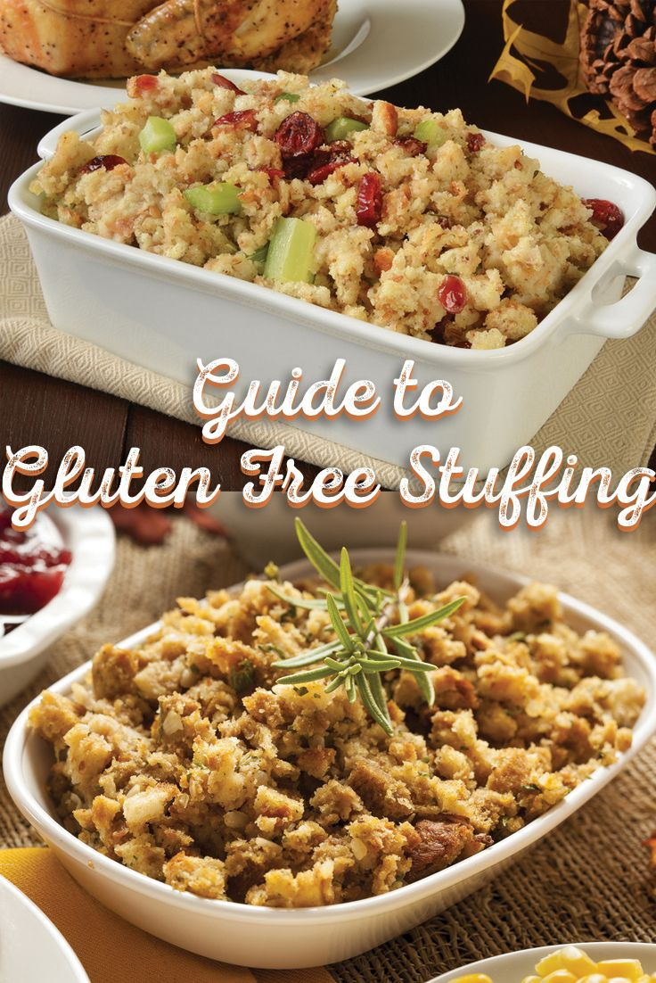 These gluten-free stuffing recipes are STUFFED with delicious flavors and will leave your mouth watering! Find the perfect gluten-free stuffing recipe for your Thanksgiving feast here!