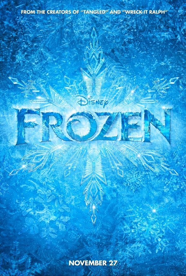 We're going to see this after dinner on Thanksgiving.  My daughter Laura's pic:  #disneyfrozen disney's frozen trailer!