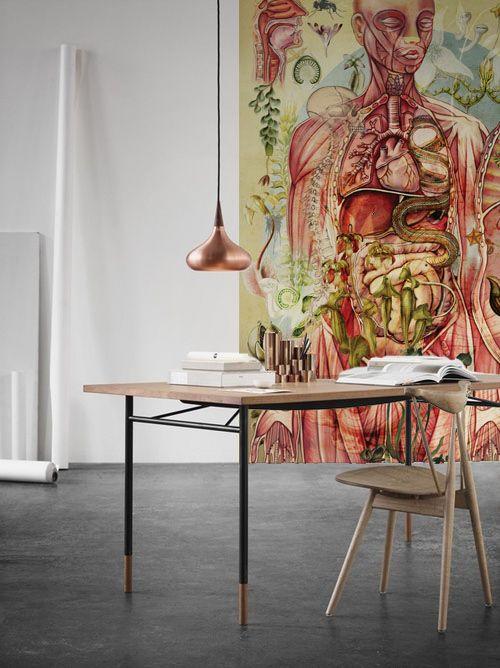 The incredible effect of meat man wallpaper by Carmen Ziervogel