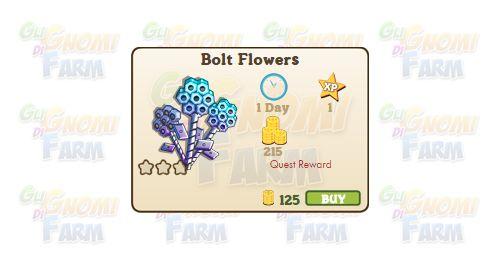 Nuova coltivazione disponibile nel Market: Bolt Flowers  Nuova coltivazione…