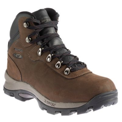 Hi-Tec Altitude IV Waterproof Hiking Boots for Men - Chocolate - 10.5 M
