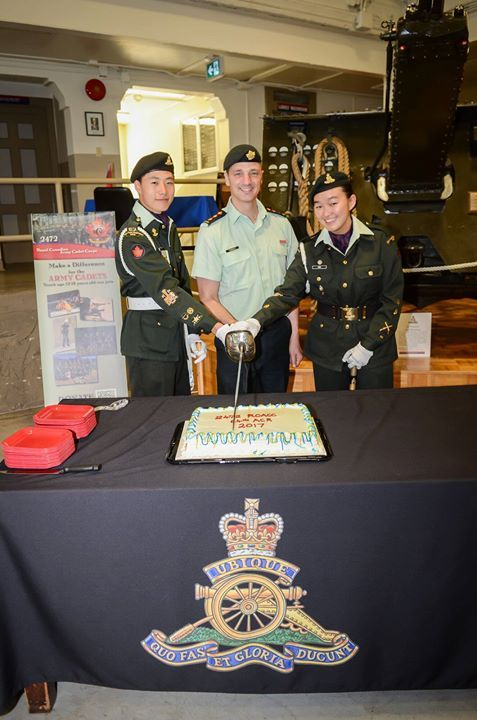 Outgoing Commanding Officer Capt TJ Townley CD cuts the cake for guests flanked by CWO Andrew Yu and MWO Kelly Chu - http://ift.tt/1HQJd81