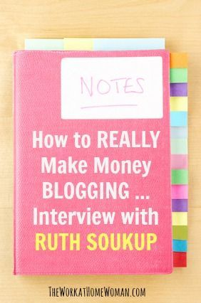 If you're interested in REALLY growing and monetizing your blog, check out these amazing strategies from professional, full-time blogger, Ruth Soukup.