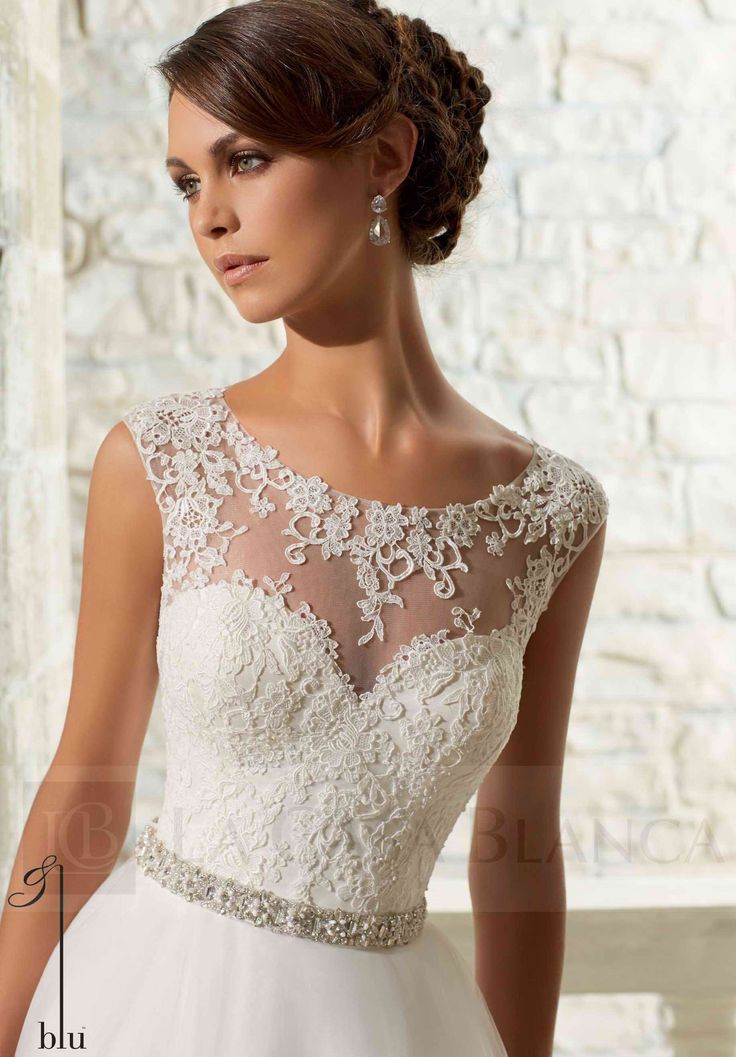 Vestido De Novia Colección Blu 2015, NOCB 069 - La Casa Blanca