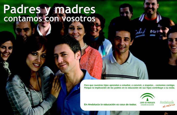 Diseño de una campaña para la Junta de Andalucía. Más en http://www.lacaseta.com #ideas #Publicidad #Design #Diseno