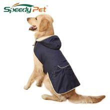 Wholesale Cheap!Dog Clothes Dog Winter Thick Removable Cap Clothing Large Dog Vest Warm Apparel Pet Clothes For Dog Pet Supplies(China)
