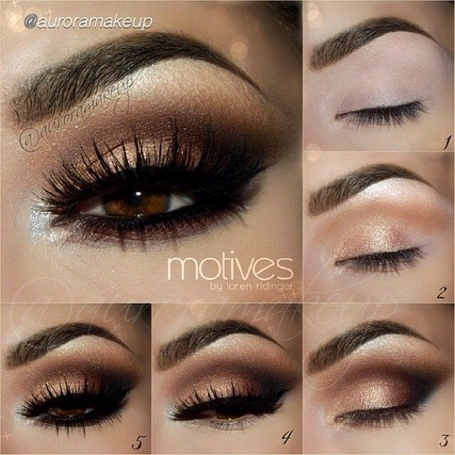 Step by step eyeshadow