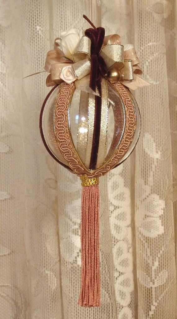 Handmade VICTORIAN CHRISTMAS Ornament / by VictorianKeepsakes, $11.95