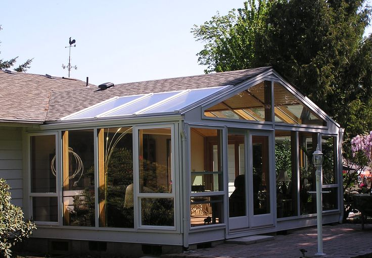 25 best adding a gabled porch images on pinterest for Gable screened porch