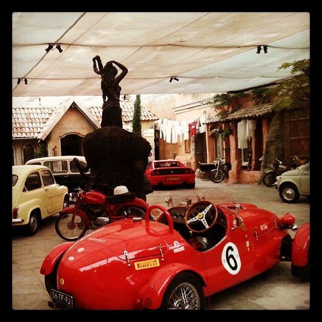 Italiaanse Auto's bij Il Cavallino (bij Il Cavallino - Private Location for Italian Events And More)
