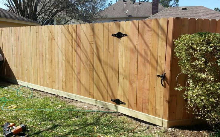 Image Result For Board On Board Fence
