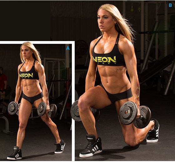 Bodybuilding.com - Ashley Hoffmann's High-Frequency Leg Workout. Want to try it