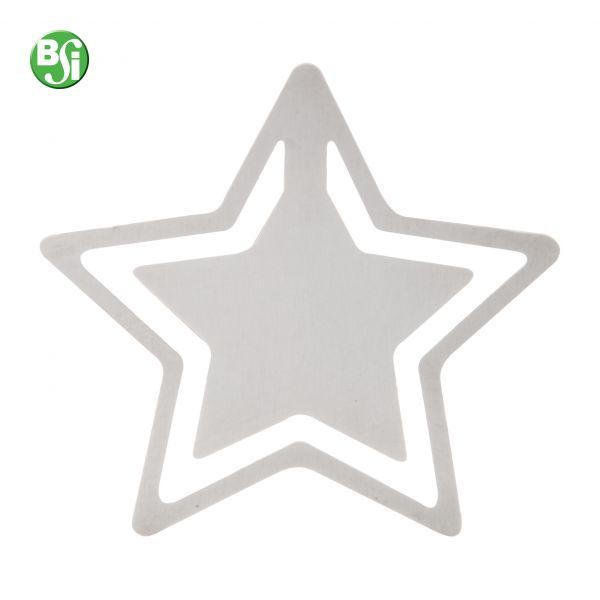 Segnalibro in metallo a forma di stella.  #segnalibro #stella #natale #gadgetpersonalizzato #christmas #gadget