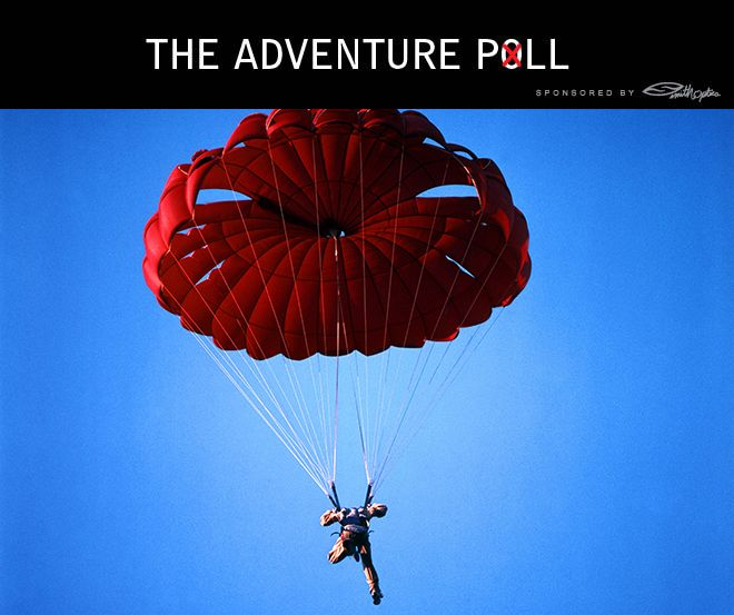 The AJ Poll: What's the biggest thing that makes you bail? What's your adventure Kryptonite? http://adv-jour.nl/17nJC3n