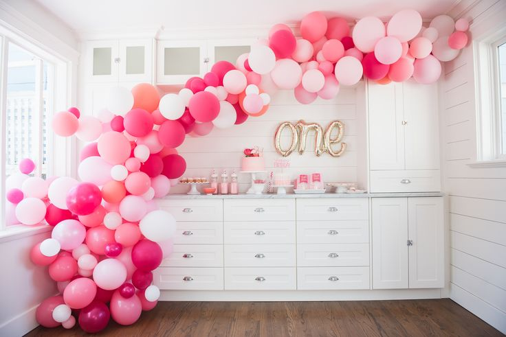 I've been obsessed with balloon arches ever since I saw the amazing one done by House Lars Built. I mean, come on. It's beyond beautiful. The gold standard. She's produceda g…