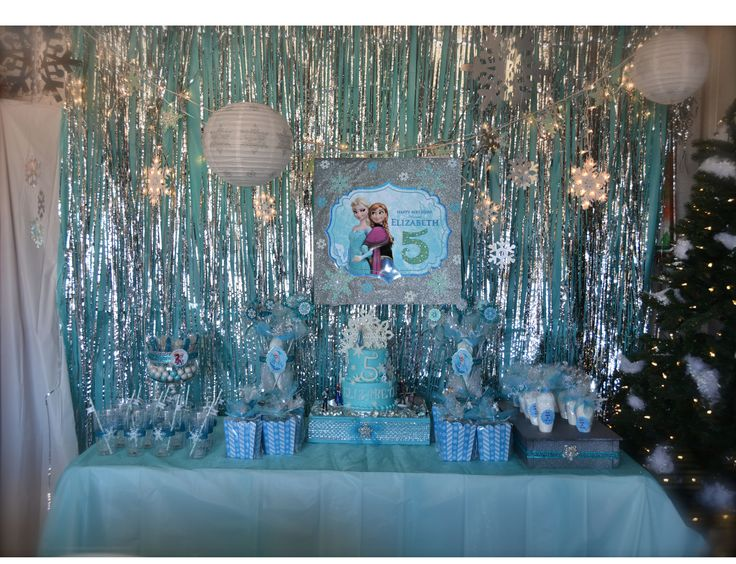 Frozen Themed Birthday Party Frozen Birthday Party