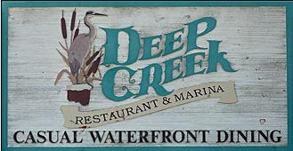Deep Creek Restaurant & Marina-best place to eat!