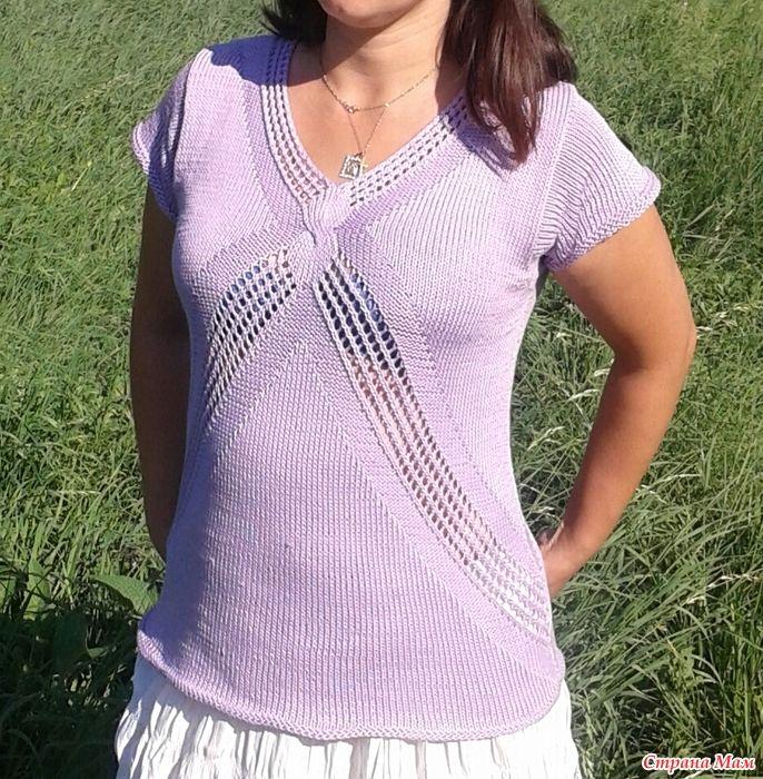 Пуловер Meringo от Lana Grossa.