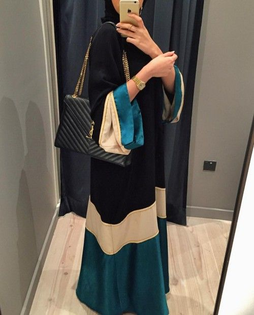 hijab, hijab fashion, and abaya image