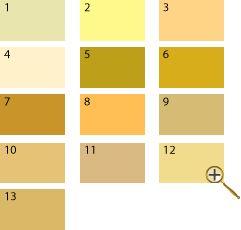 Желтые оттенки для цветотипа лето 1 серо-желтый цвет 2 бледно-желтый цвет 3 розово-желтый цвет 4 ванильный цвет 5 охра золотая 6 золотой цвет 7 золотой дуб цвет 8 шафрановый цвет 9 латунный цвет 10 песочный цвет 11 льняной цвет 12 цвет шампанское 13 соломенный цвет Сложно представить темные оттенки желтого, а вот светлые, бледные – запросто. Зеленоватые оттенки желтого сделают внешность «лета» болезненной, зато золотистые, соломенные, песочные и т.д. будут в самый раз.