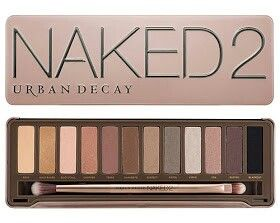 I love wearing neutral eye shadows.    NAKED 2 Urban Decay