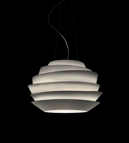 Hanging white lamp
