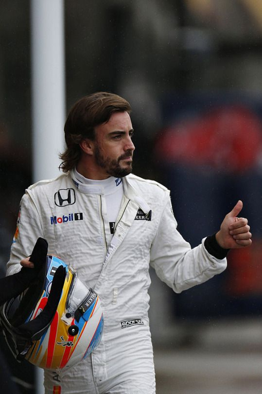 Fernando Alonso at the 2015 #F1 Grand Prix of Japan