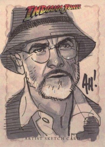 Indiana Jones - Henry Jones by Adam Hughes