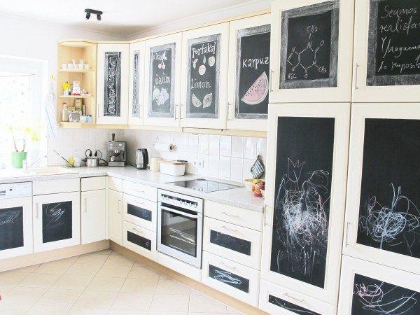 Ponad 25 najlepszych pomysłów na Pintereście na temat - küche mit folie bekleben