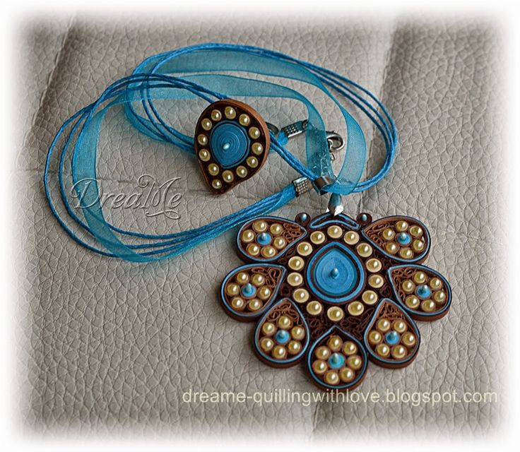 DreaMe: Quilled jewelry