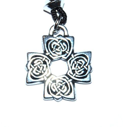 The Rose Cross Pendant – Celtic Pewter Jewellery