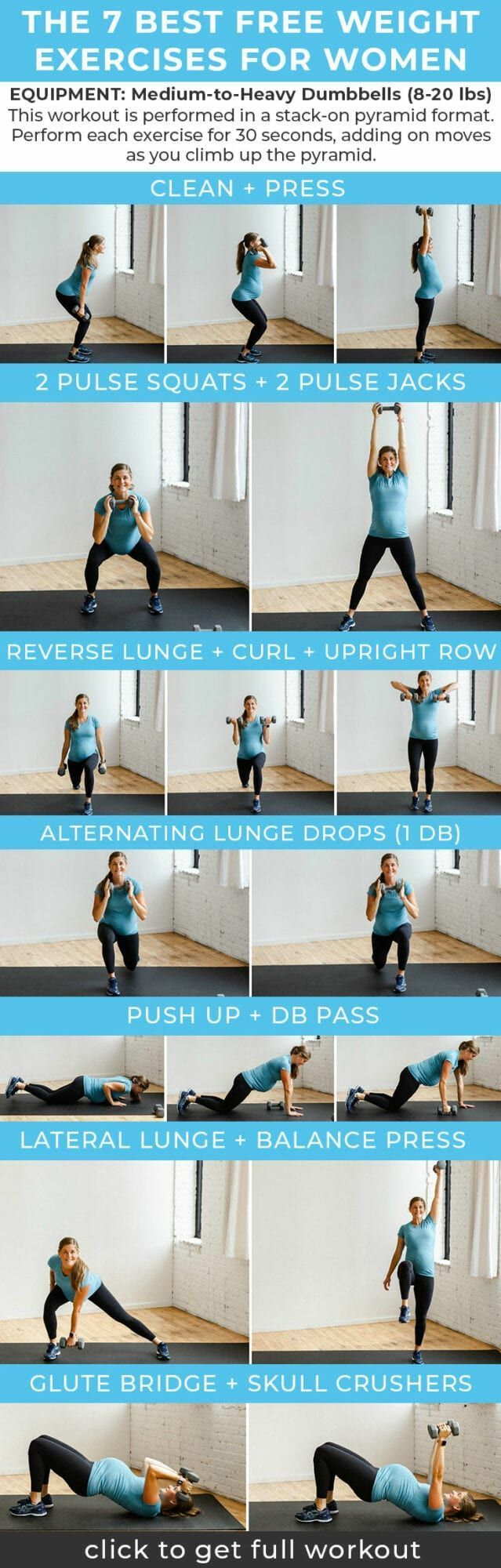 7 Best Free Weight Exercises for Women Strength tr…