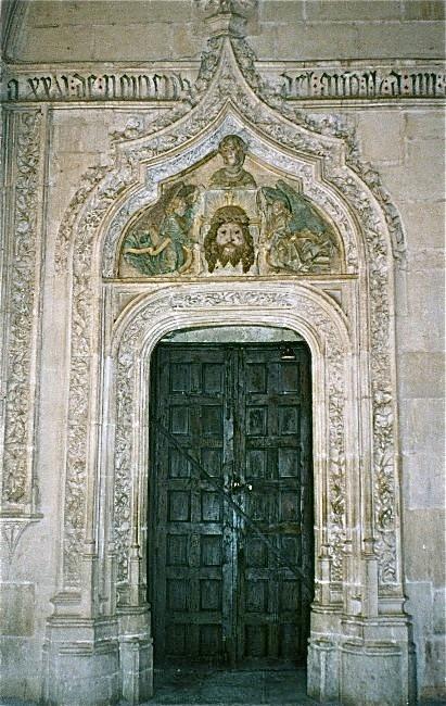 Church door Toledo, Spain